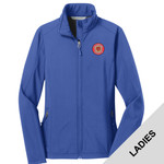 L317 - W321E001 - EMB - Ladies Soft Shell Jacket