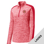 LST397 - W321E001 - EMB - Ladies 1/4 Zip Pullover