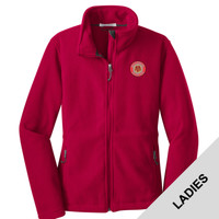 L217 - W321E001 - EMB - Ladies Fleece Jacket