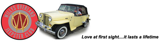 Willys Overland Jeepster Club - Apparel Web Store